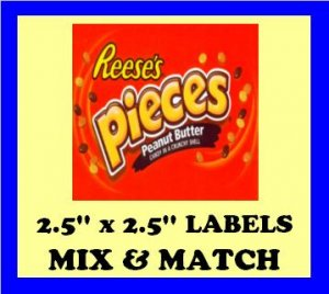 12 2.5 X 2.5 Laminated Labels