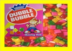 12 lbs.Chicle Gum Dubble Bulk Candy FREE Labels & Ship