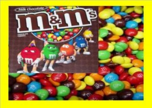 10.5 lbs M&M Plain Bulk Candy FREE Labels & Shipping