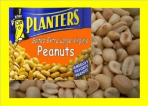 6.5 lbs. Planters Peanuts Bulk Candy FREE Labels & Ship