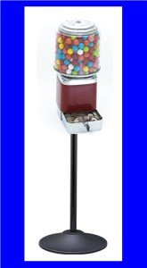 Rhino Vending Machine Single Head w/ Cash Box  & Stand