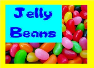 8 lbs.Jelly Beans Bulk Candy FREE Labels & Shipping