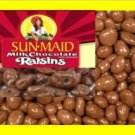 6.2 lbs. Choc Raisins Bulk Candy FREE Labels & Shipping