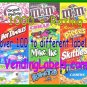 4 Vinyl Static Cling 4 x 5 Bulk Vending Labels