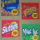 12 XLVinyl Peel Stick vendstar VENDING labels w/ PRICE