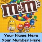 12 laminated Custom Contact Us VENDING candy labels
