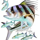 Guy Harvey &quot;Roosterfish&quot; Size Large