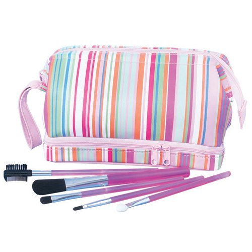 Makeup Brushes and Bag Set