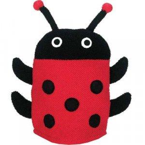 Lady Bug Bath Mitt
