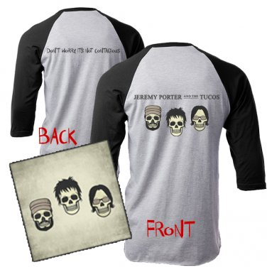 * PRE ORDER* LP (Don't Worry, It's Not Contagious) & T-Shirt Combo