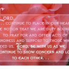 Acts of Kindness Prayer Card - Sharon