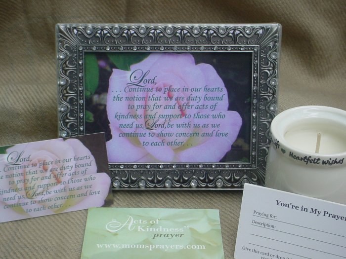 Acts of Kindness Prayer Gift Set - Gracie (Lg.)