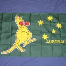 Kangaroo Flag 3x5 feet Australia Boxing Australian new