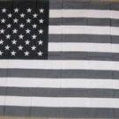 Black & White American Flag 3x5 feet b/w US banner sign