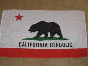 California State Flag 3x5 feet CA Republic banner new