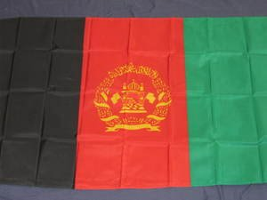Afghanistan Flag 3x5 feet War Middle East Country new