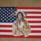 USA Native American Flag 3x5 feet US Indian banner new
