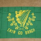 Erin Go Bragh Flag 3x5 feet Ireland Irish braugh harp