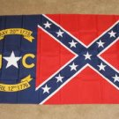 Confederate North Carolina Flag 3x5 feet Rebel State NC
