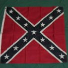 Confederate Battle Flag 3x3 feet Civil War Rebel CSA