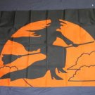 Witch Flag 3x5 feet Halloween banner sign new Scary