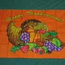 Happy Thanksgiving Flag 3x5 feet Turkey banner sign new