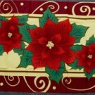 Pointsettia Flag 3x5 feet Christmas Xmas Holiday banner sign