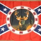 Deer Flag 3x5 feet Rebel Confederate Hunting Hunter new