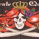 Pirate Queen Flag 3x5 feet Skull Cross Swords banner
