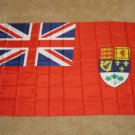 Historical Canada Ensign Flag 3x5 feet pre 1965 Canadian Naval banner Red Navy