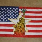 Statue of Liberty Flag 3x5 feet Marijuana American USA US pot leaf weed new