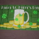 Happy St Patty's Day Flag 3x5 feet Saint Patrick's Irish Ireland Banner new