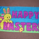 Happy Easter Flag 3x5 feet Bunny Eggs Spring banner new