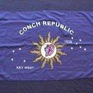 Key West Flag 2x3 feet new Conch Republic banner