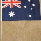 Australia Flag 12x18 inches new Australian banner wooden stick