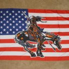 End of the Trail Flag 3x5 feet Native American Indian USA US new