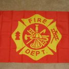 Fire Department Flag 3x5 feet Fireman firefighter dept