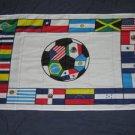 South American Soccer Flag 3x5 feet Football Futbol Brazil Chile Argentina Chile