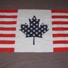 USA Canada Friendship Flag 3x5 feet American Canadian banner new sign US half