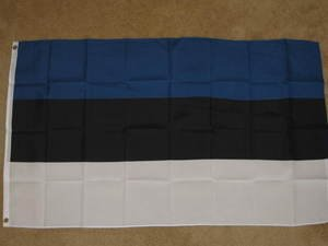 Estonia Flag 3x5 feet Estonian banner sign new