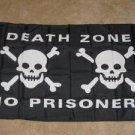 Death Zone No Prisoners Pirate Flag 3x5 feet banner