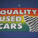 Quality Used Cars Flag 3x5 feet auto lot store sign new