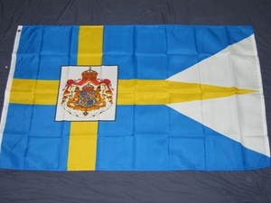 Swedish Royal Standard Flag 3x5 feet Sweden royalty new