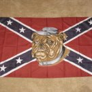 Bulldog Confederate Flag 3x5 feet Rebel dog banner new