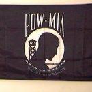 POW MIA Flag 2x3 feet Vietnam War Veteran Vet banner