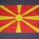 Macedonia Flag 3x5 feet Macedonian banner new