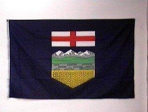 Alberta Flag 3x5 feet Canadian Province Canada banner