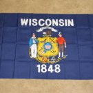 Wisconsin State Flag 3x5 feet WI banner new