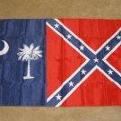 Confederate South Carolina State Flag 3x5 feet rebel SC