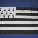 Drapeau Bretagne Flag 3x5 feet Brittany French France
